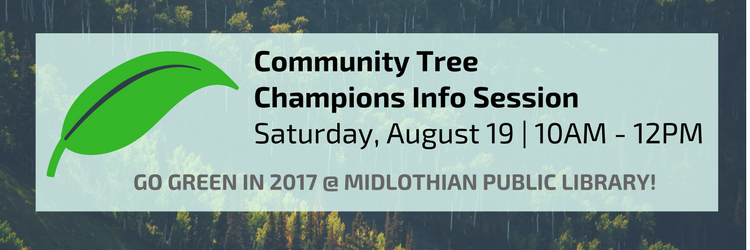 Community Tree Champions Info Session